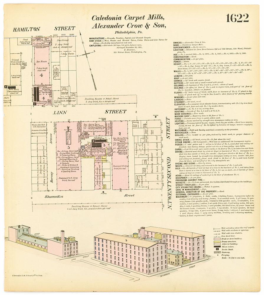 Hexamer General Surveys, Volume 17, Plate 1622
