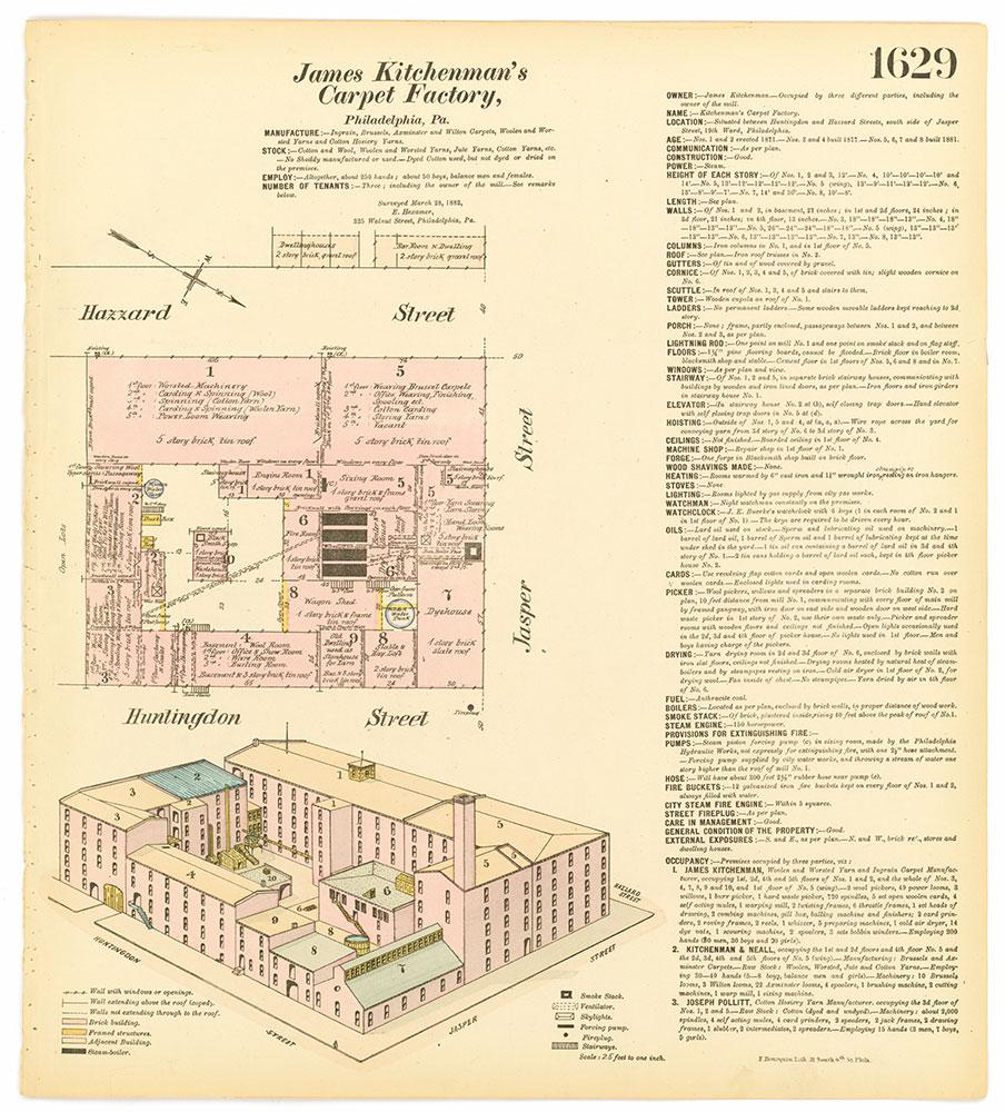 Hexamer General Surveys, Volume 17, Plate 1629