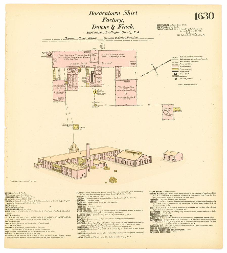Hexamer General Surveys, Volume 17, Plate 1630
