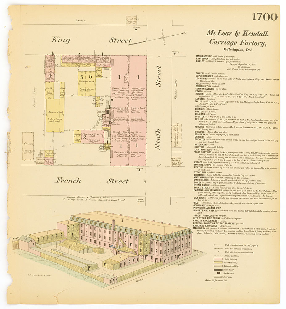 Hexamer General Surveys, Volume 18, Plate 1700