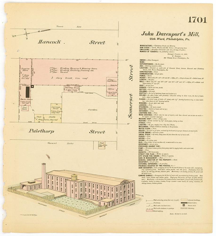Hexamer General Surveys, Volume 18, Plate 1701