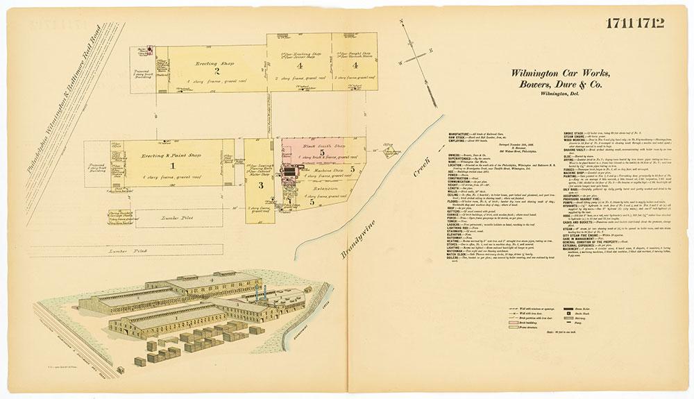Hexamer General Surveys, Volume 18, Plates 1711-1712