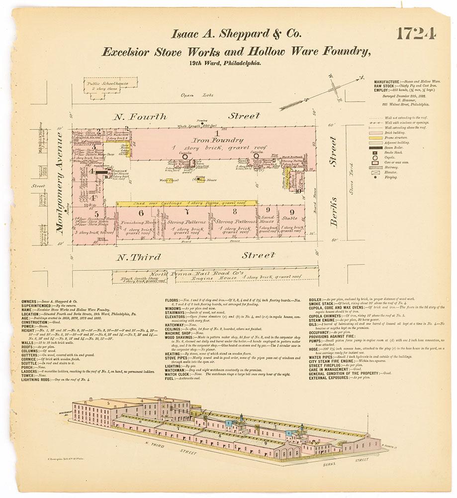 Hexamer General Surveys, Volume 18, Plate 1724