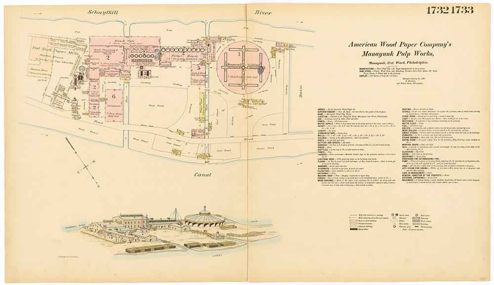 Hexamer General Surveys, Volume 18, Plates 1732-1733