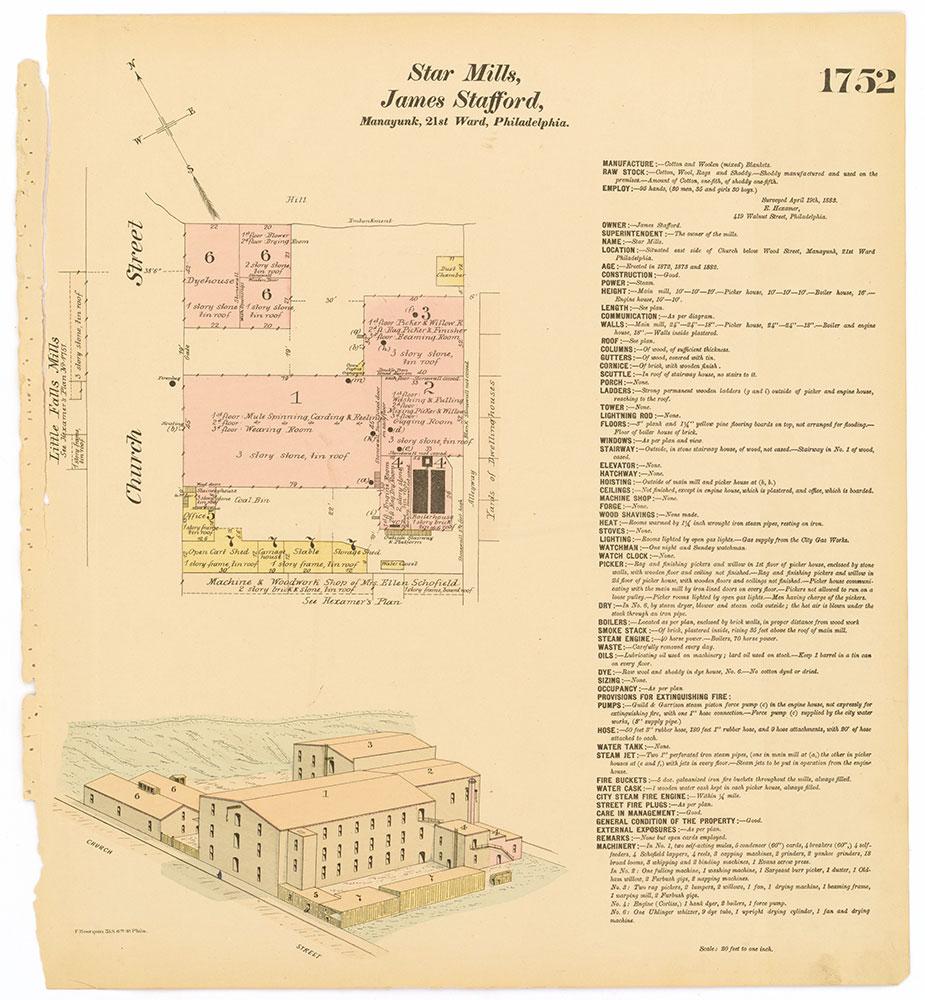 Hexamer General Surveys, Volume 18, Plate 1752