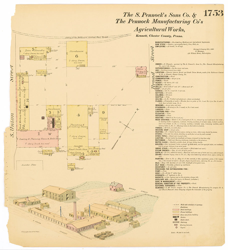 Hexamer General Surveys, Volume 18, Plate 1753