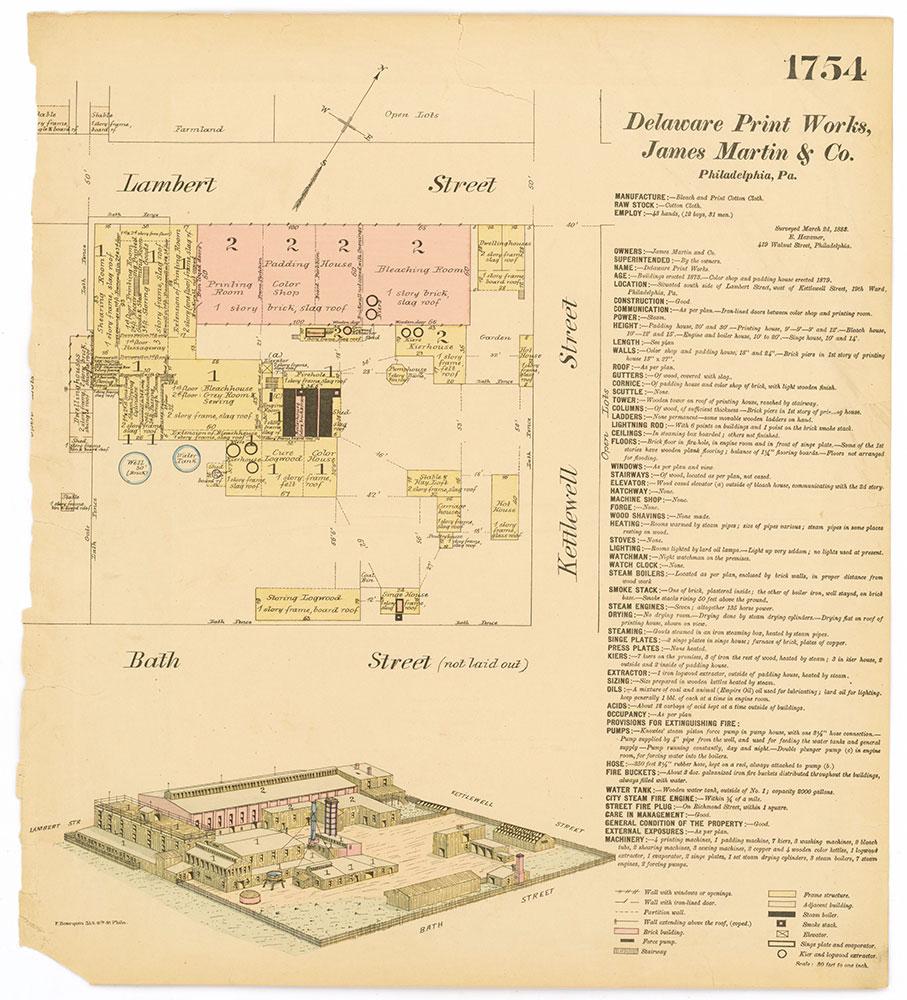 Hexamer General Surveys, Volume 18, Plate 1754