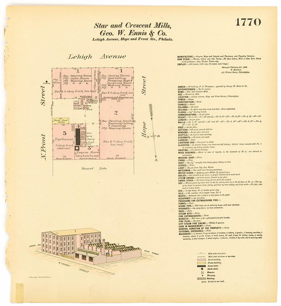 Hexamer General Surveys, Volume 19, Plate 1770