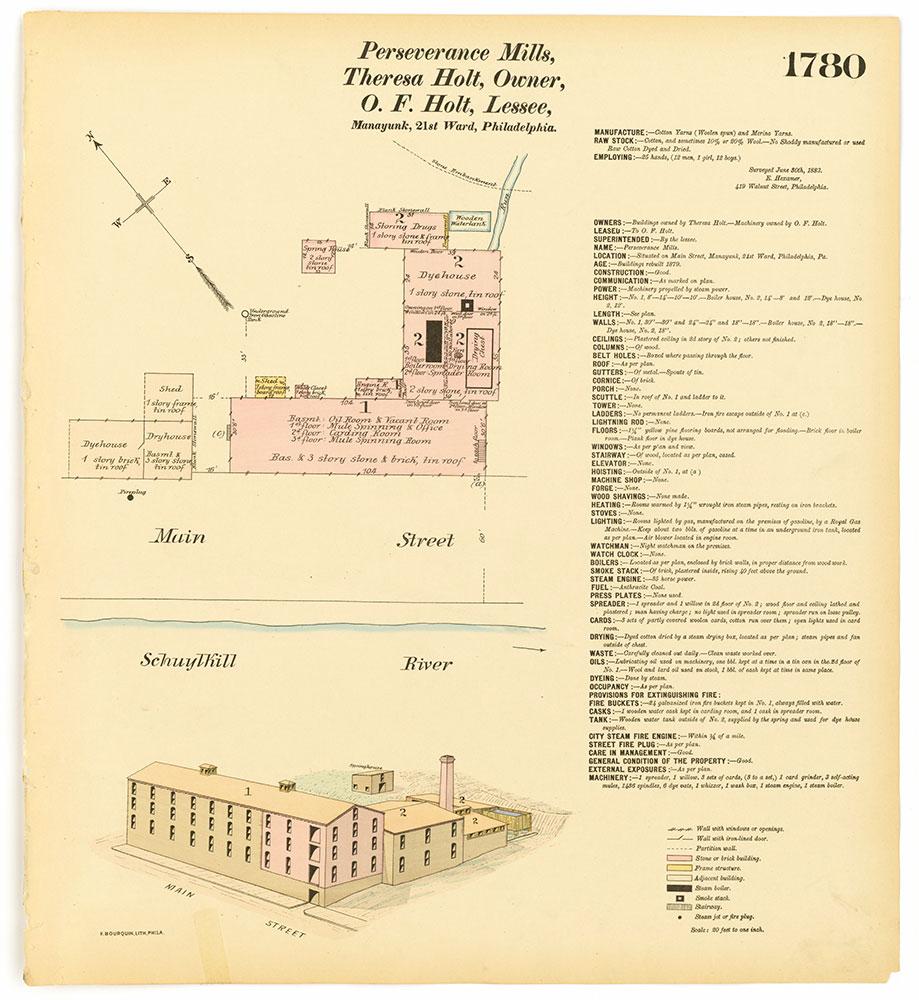 Hexamer General Surveys, Volume 19, Plate 1780