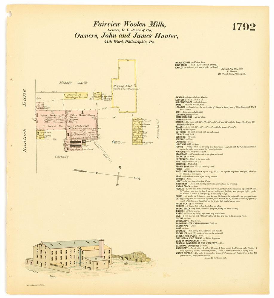 Hexamer General Surveys, Volume 19, Plate 1792