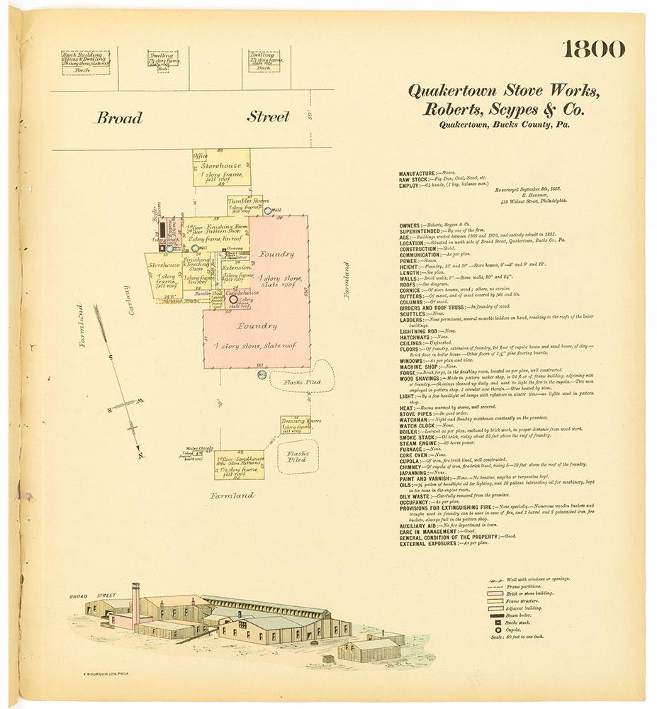 Hexamer General Surveys, Volume 19, Plate 1800