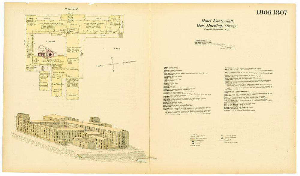 Hexamer General Surveys, Volume 19, Plates 1806-1807
