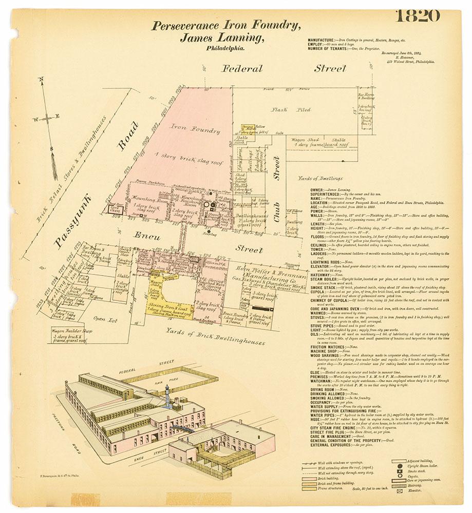Hexamer General Surveys, Volume 19, Plate 1820