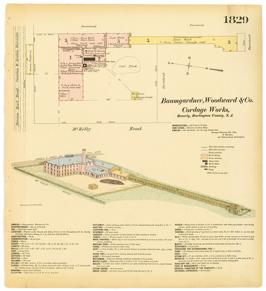 Hexamer General Surveys, Volume 19, Plate 1829