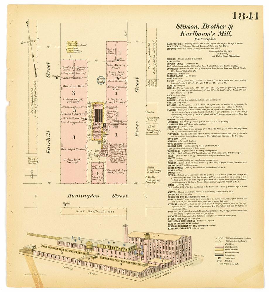 Hexamer General Surveys, Volume 19, Plate 1841