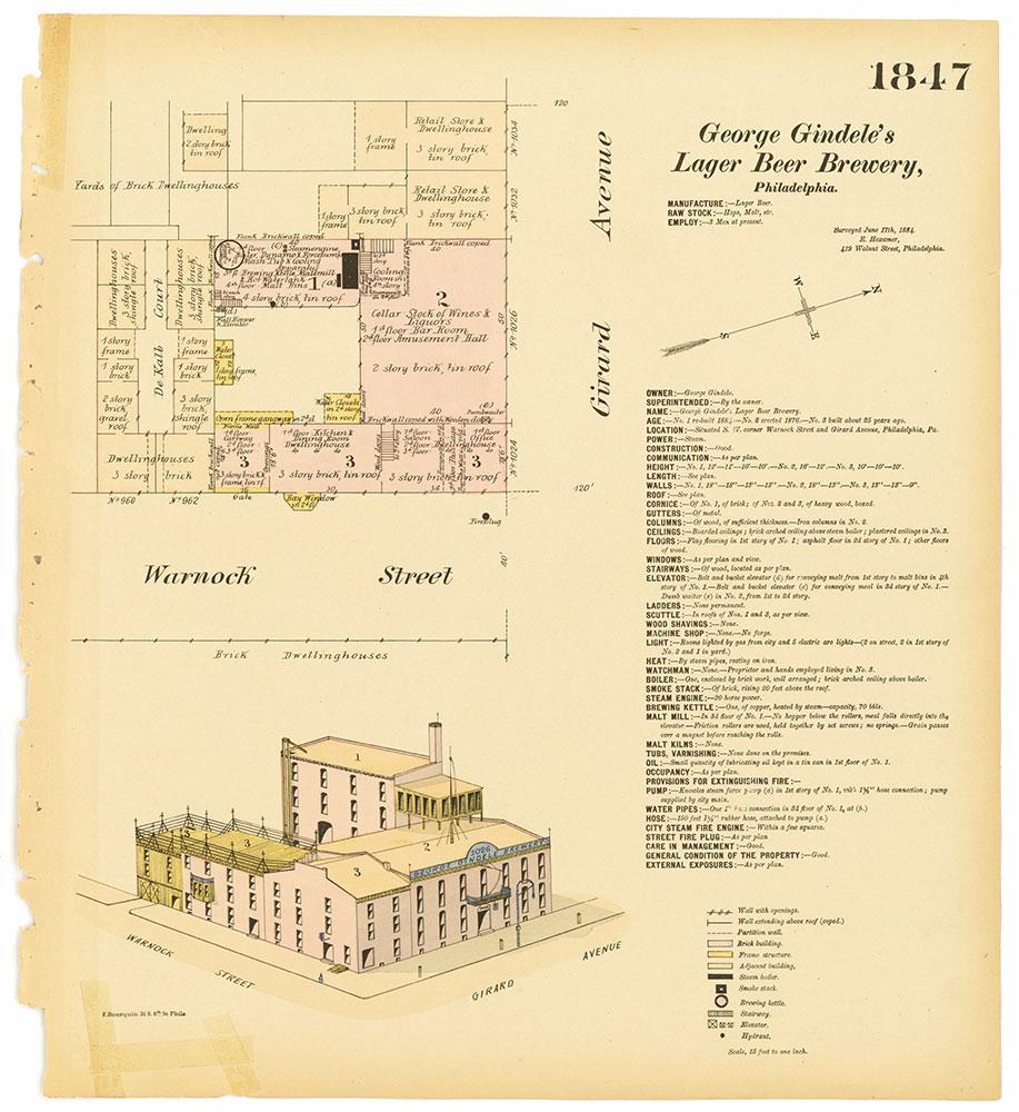 Hexamer General Surveys, Volume 19, Plate 1847
