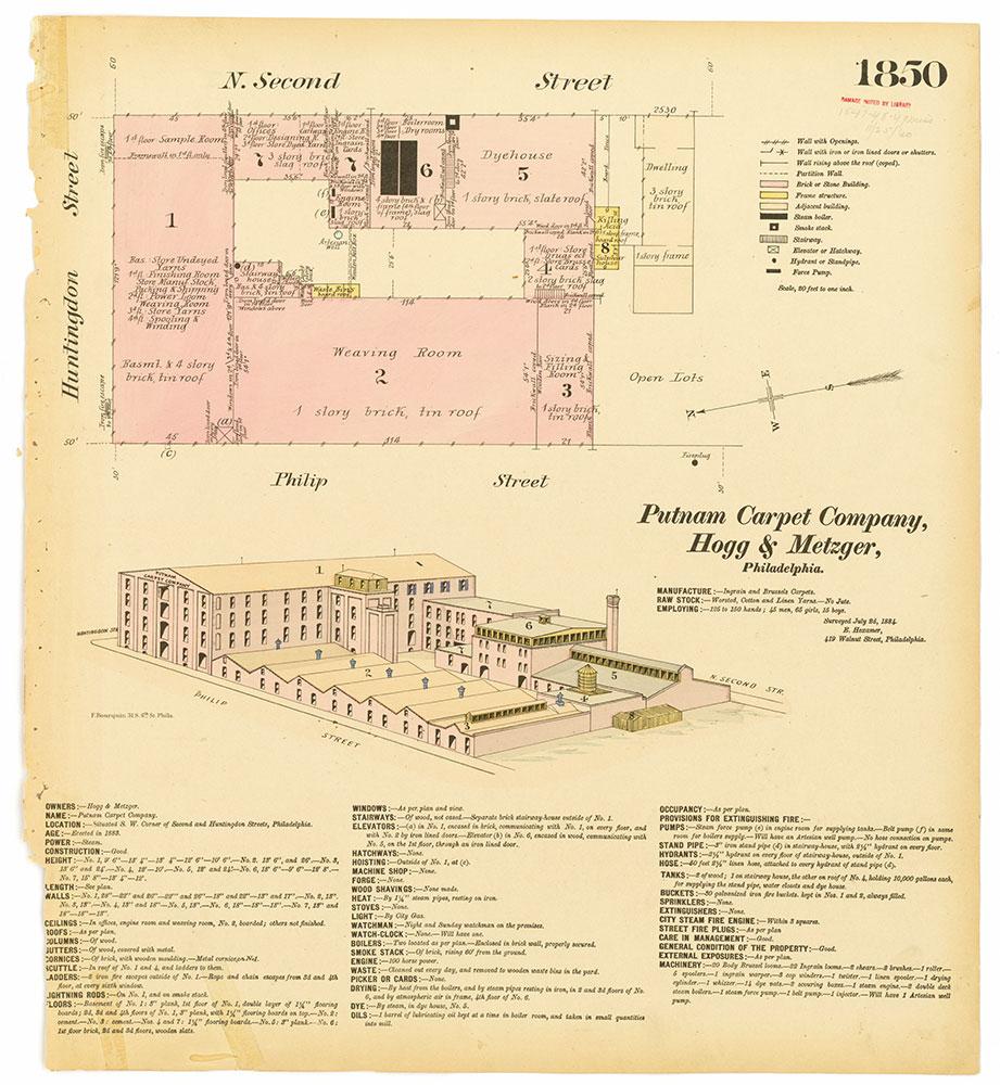 Hexamer General Surveys, Volume 19, Plate 1850