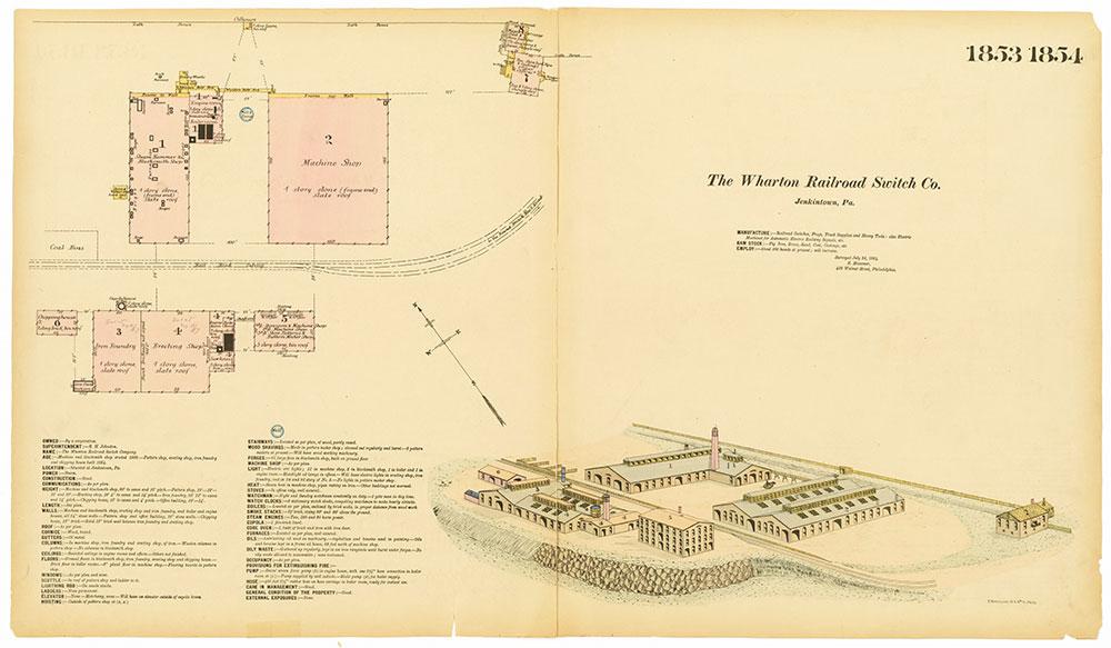 Hexamer General Surveys, Volume 19, Plates 1853-1854