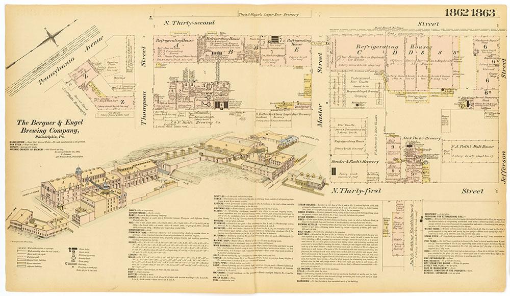Hexamer General Surveys, Volume 20, Plates 1862-1863