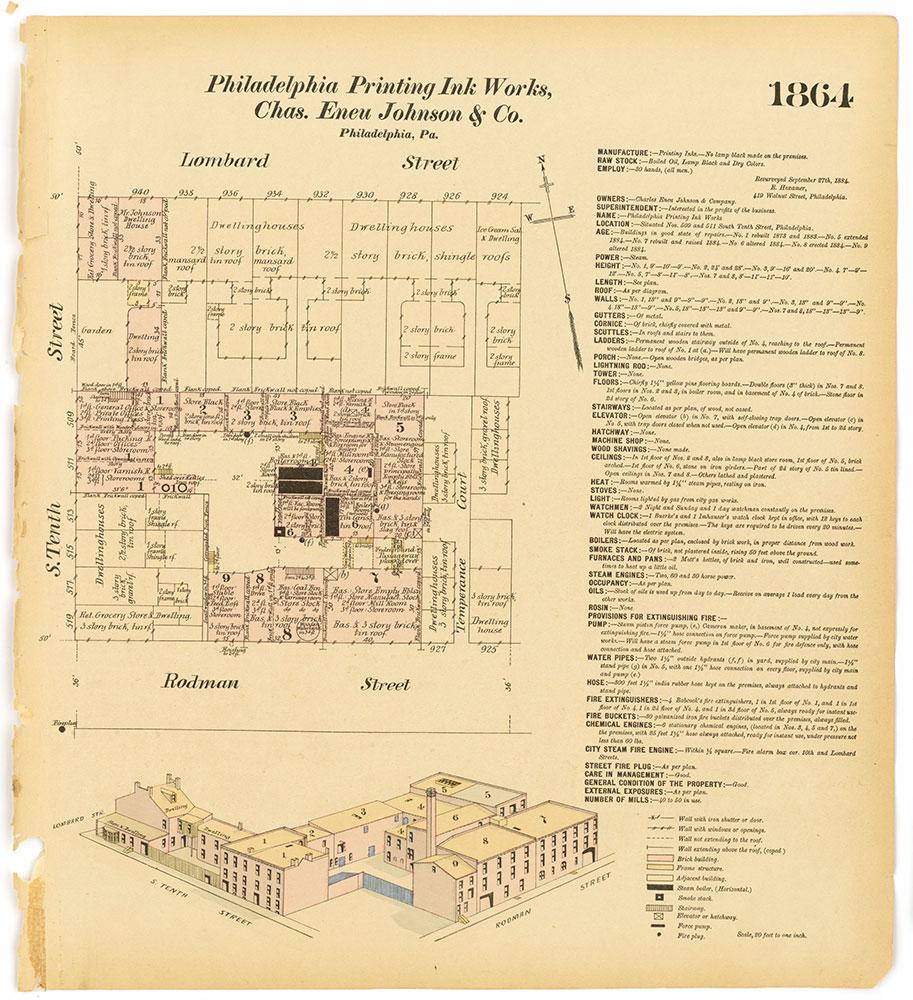 Hexamer General Surveys, Volume 20, Plate 1864