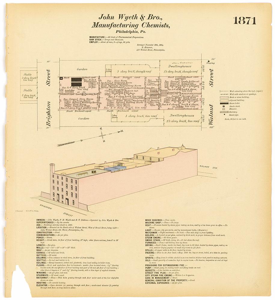 Hexamer General Surveys, Volume 20, Plate 1871