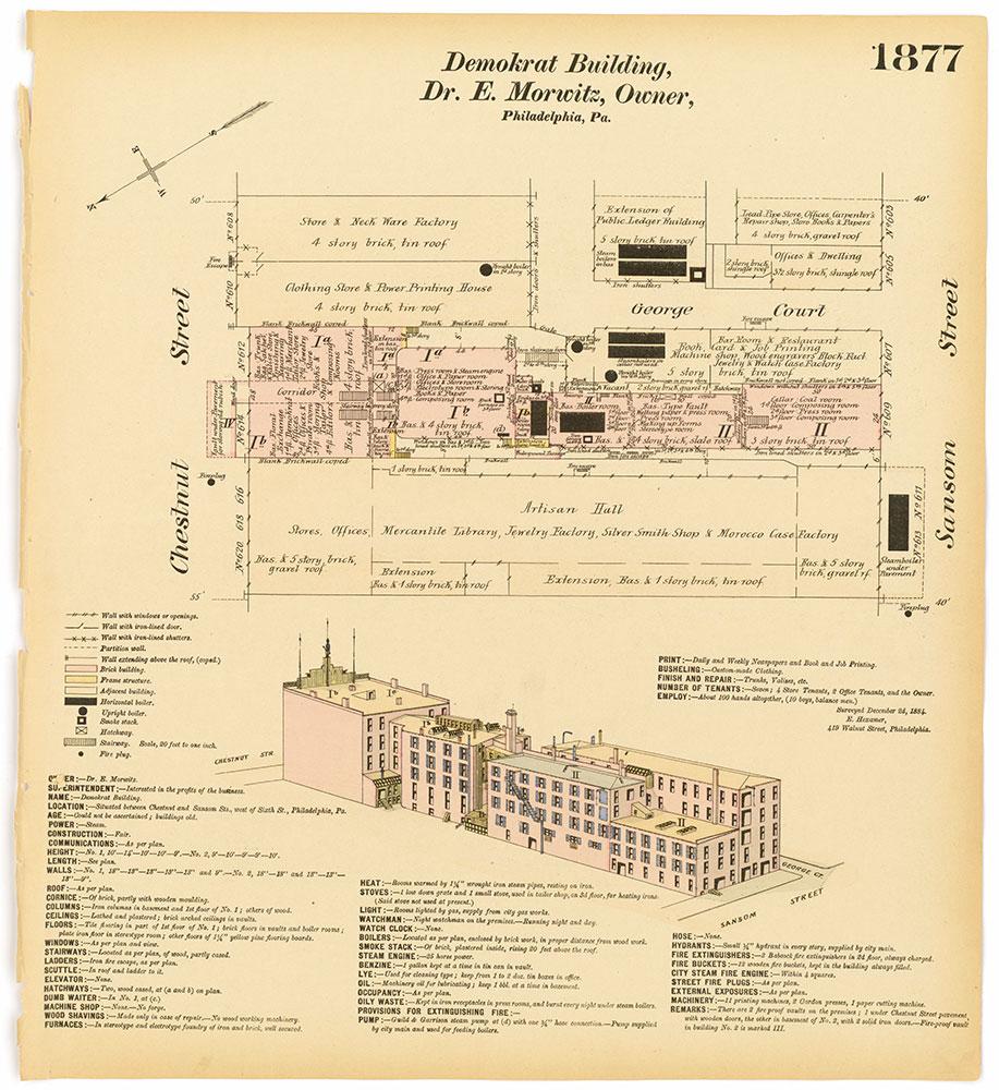 Hexamer General Surveys, Volume 20, Plate 1877