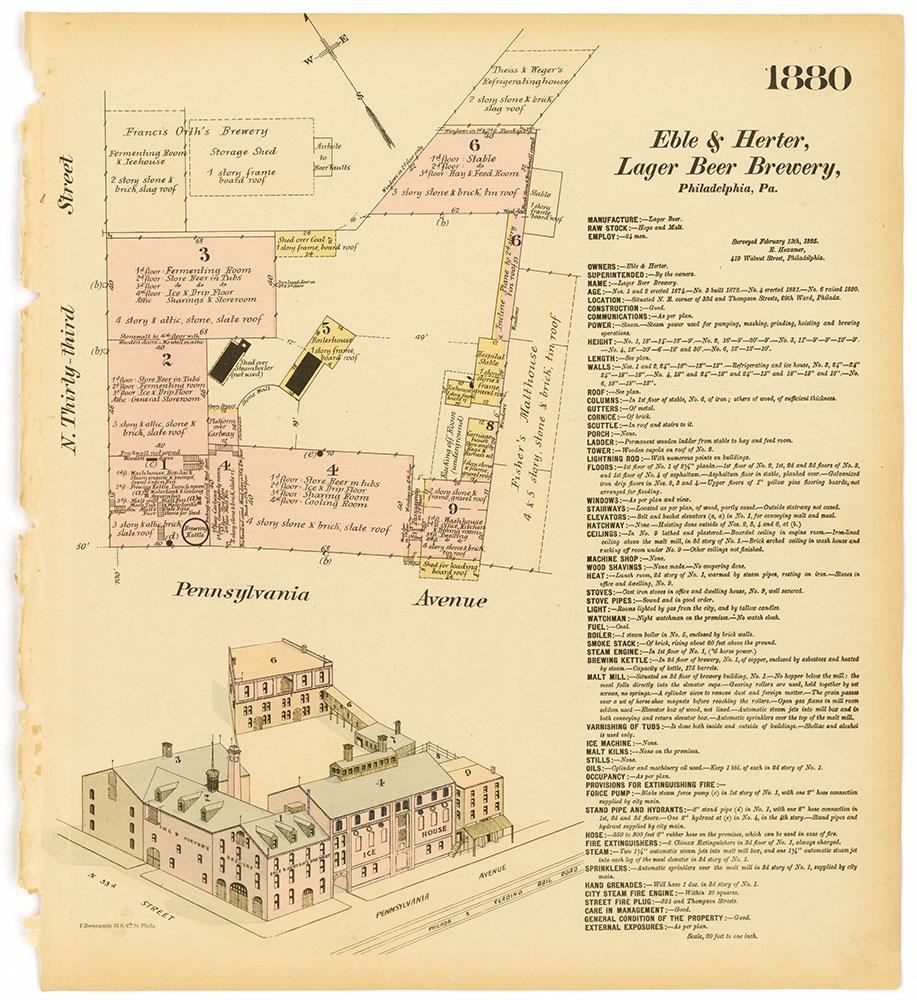 Hexamer General Surveys, Volume 20, Plate 1880