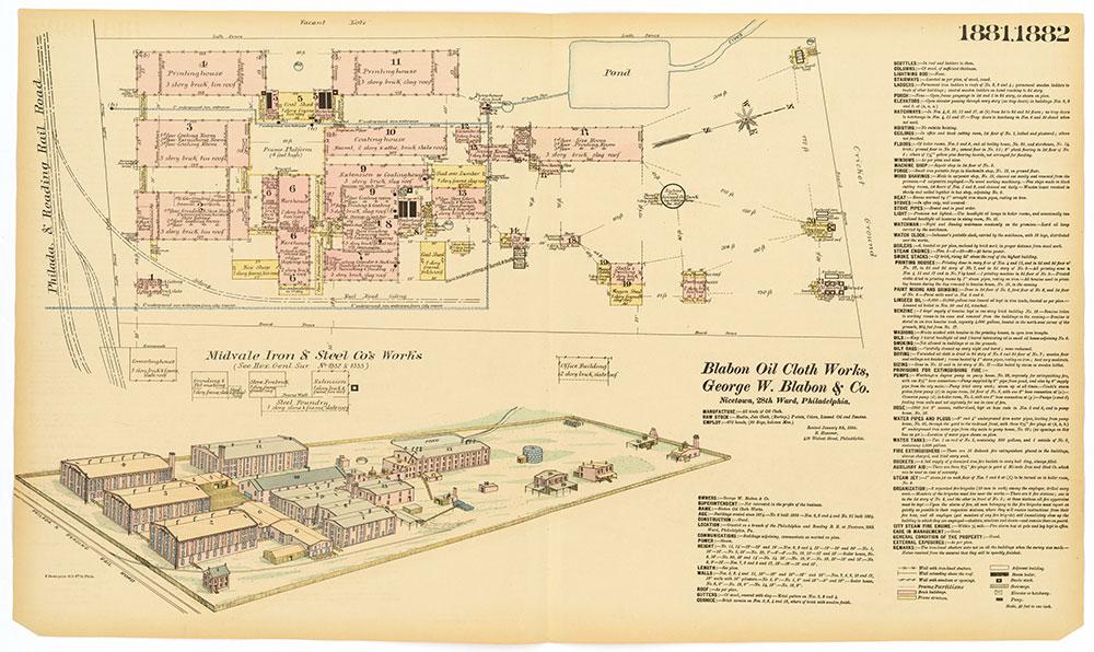 Hexamer General Surveys, Volume 20, Plates 1881-1882