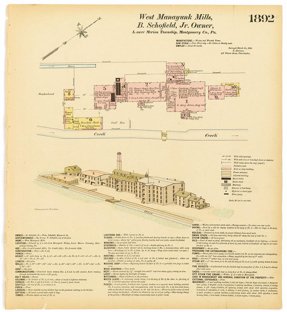 Hexamer General Surveys, Volume 20, Plate 1892