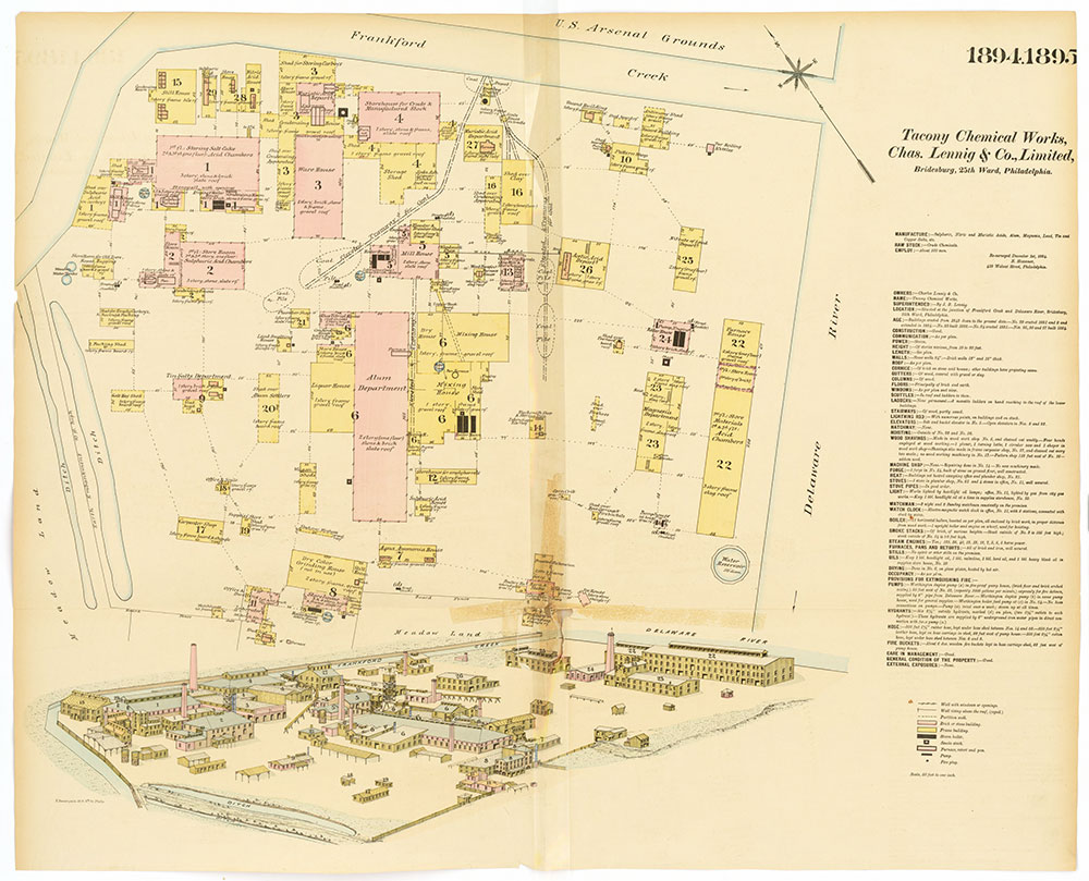 Hexamer General Surveys, Volume 20, Plates 1894-1895