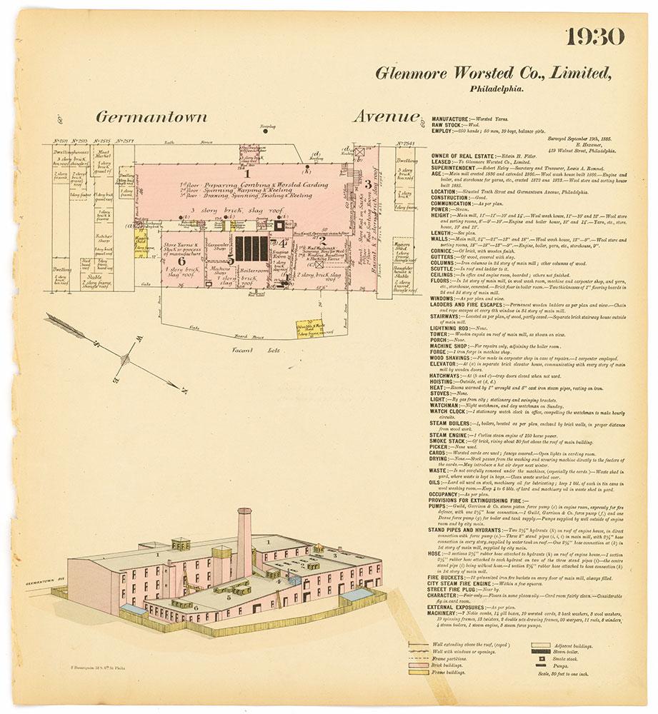 Hexamer General Surveys, Volume 20, Plate 1930