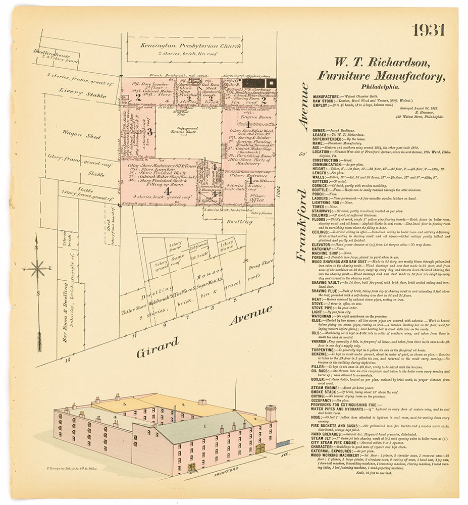 Hexamer General Surveys, Volume 20, Plate 1931