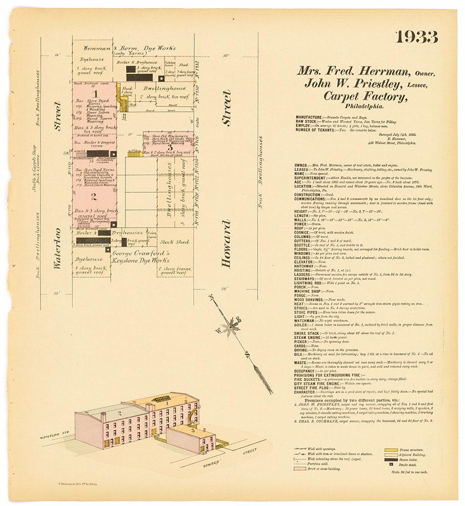 Hexamer General Surveys, Volume 20, Plate 1933