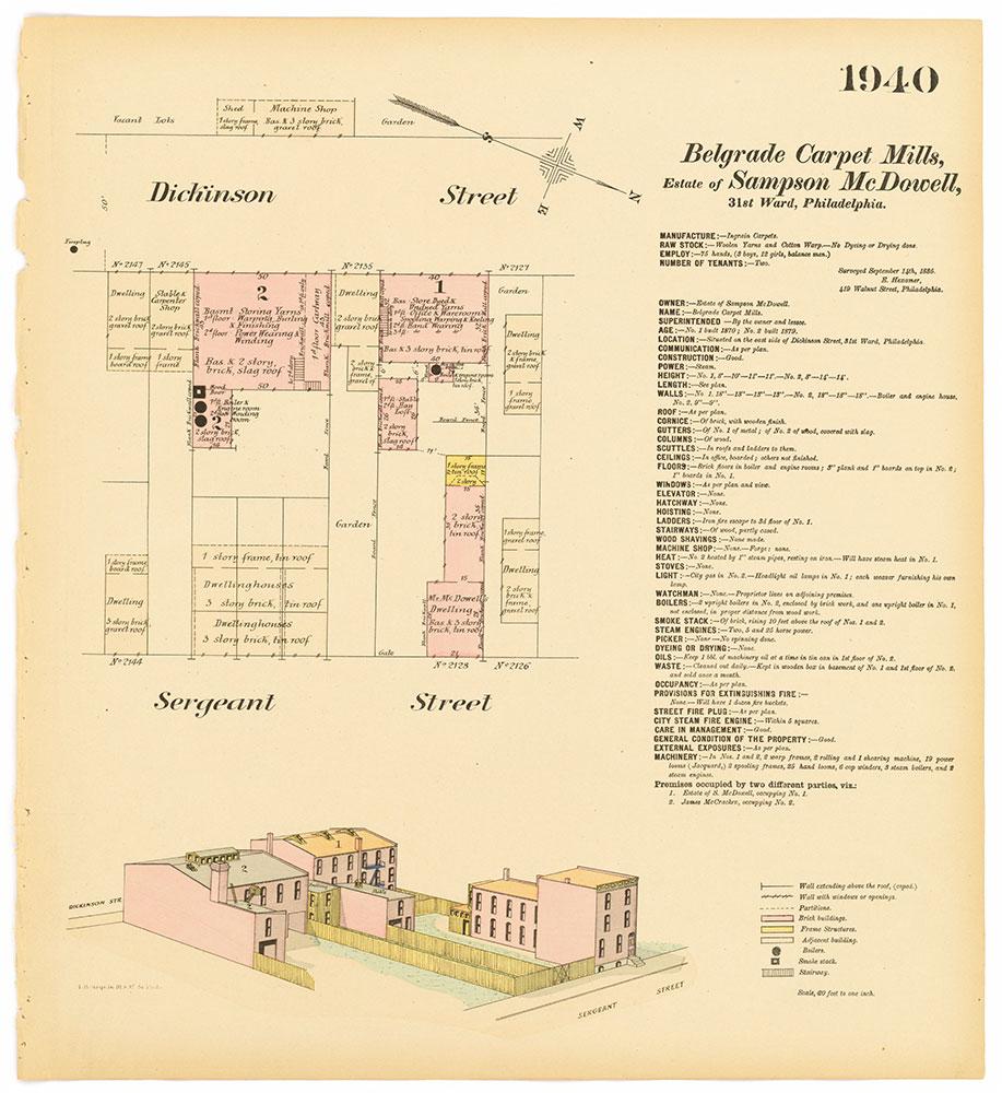 Hexamer General Surveys, Volume 20, Plate 1940