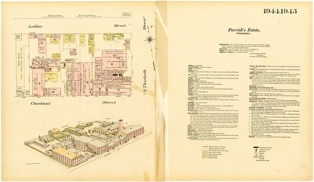 Hexamer General Surveys, Volume 20, Plates 1944-1945