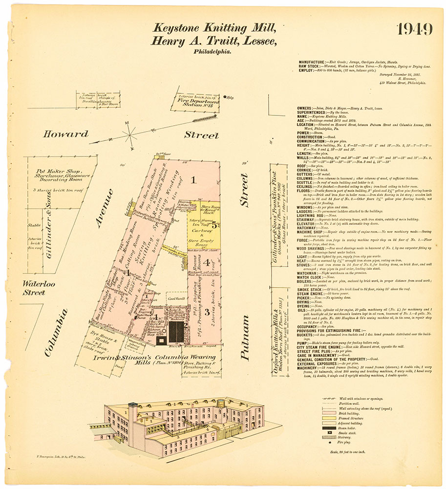 Hexamer General Surveys, Volume 20, Plate 1949