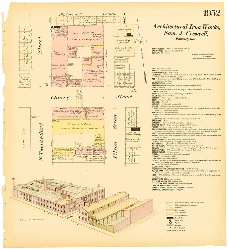 Hexamer General Surveys, Volume 20, Plate 1952