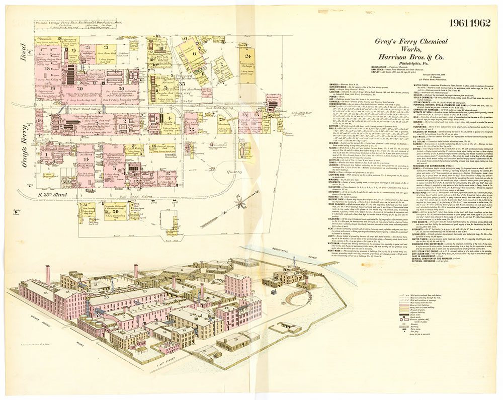 Hexamer General Surveys, Volume 21, Plates 1961-1962