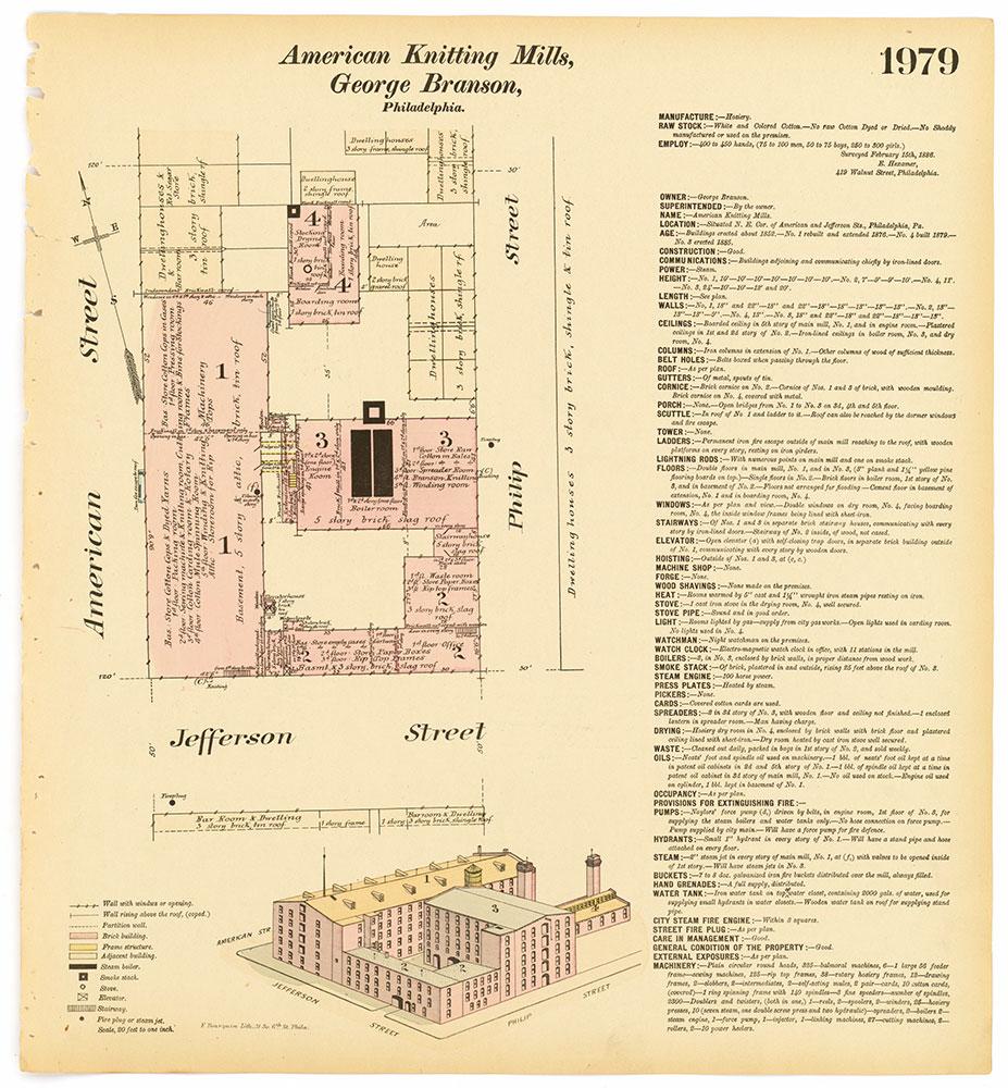 Hexamer General Surveys, Volume 21, Plate 1979
