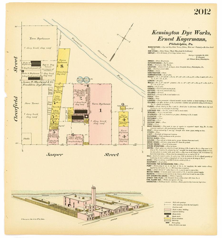 Hexamer General Surveys, Volume 21, Plate 2012