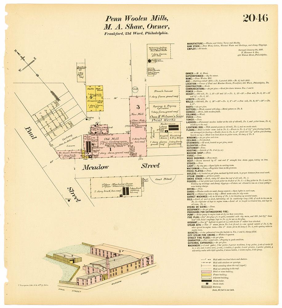 Hexamer General Surveys, Volume 21, Plate 2046