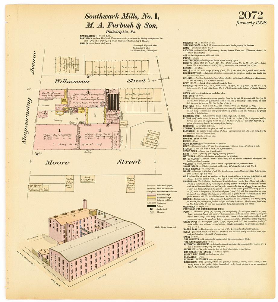 Hexamer General Surveys, Volume 22, Plate 2072