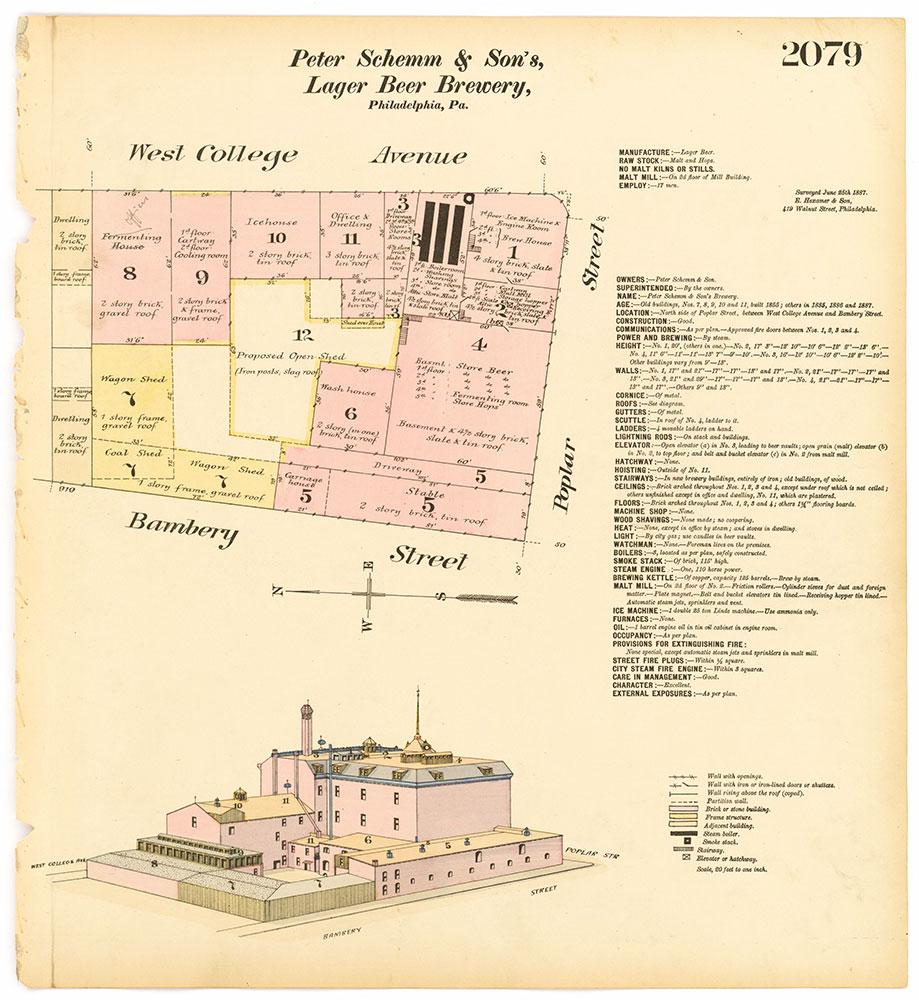 Hexamer General Surveys, Volume 22, Plate 2079
