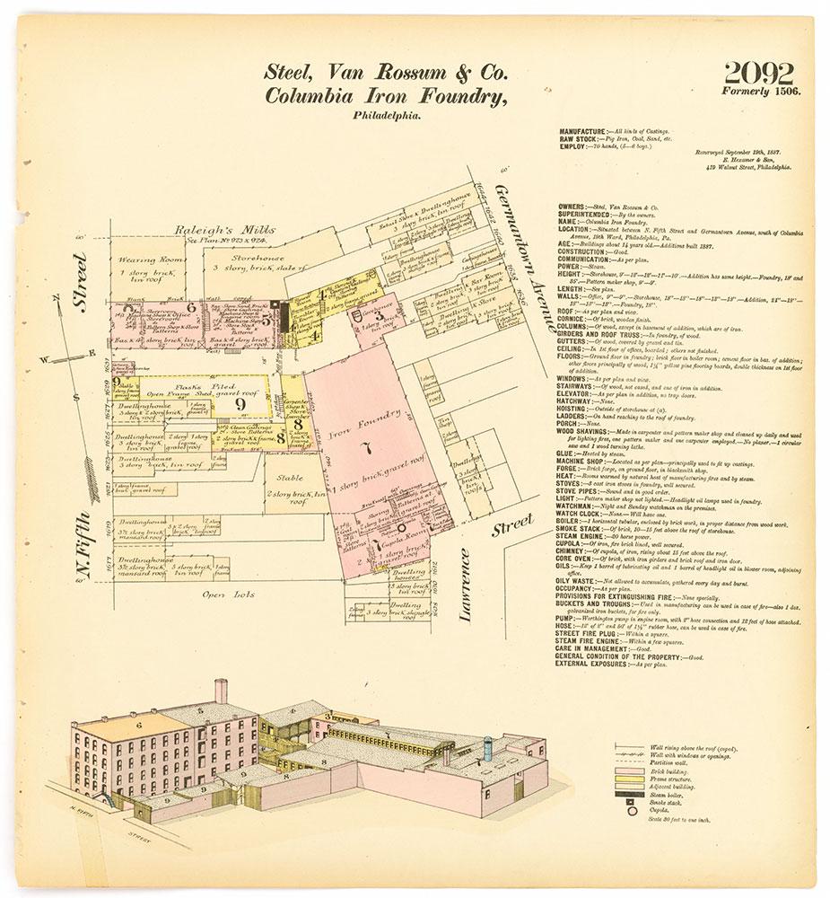 Hexamer General Surveys, Volume 22, Plate 2092