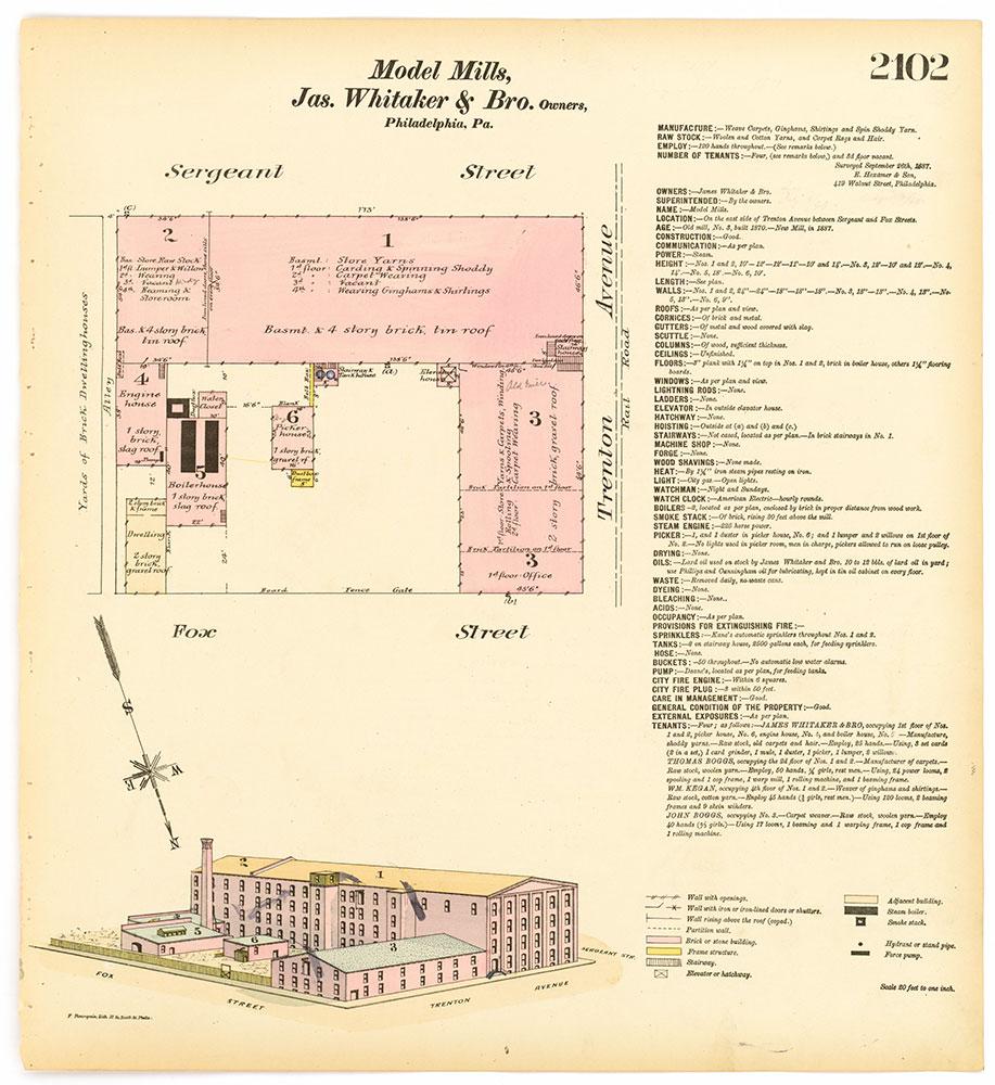 Hexamer General Surveys, Volume 22, Plate 2102