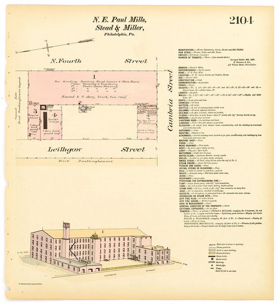 Hexamer General Surveys, Volume 22, Plate 2104