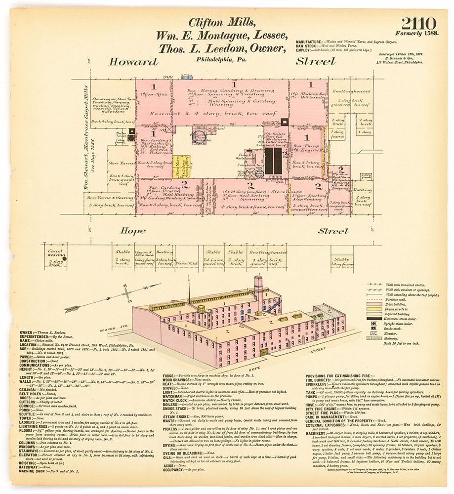 Hexamer General Surveys, Volume 22, Plate 2110