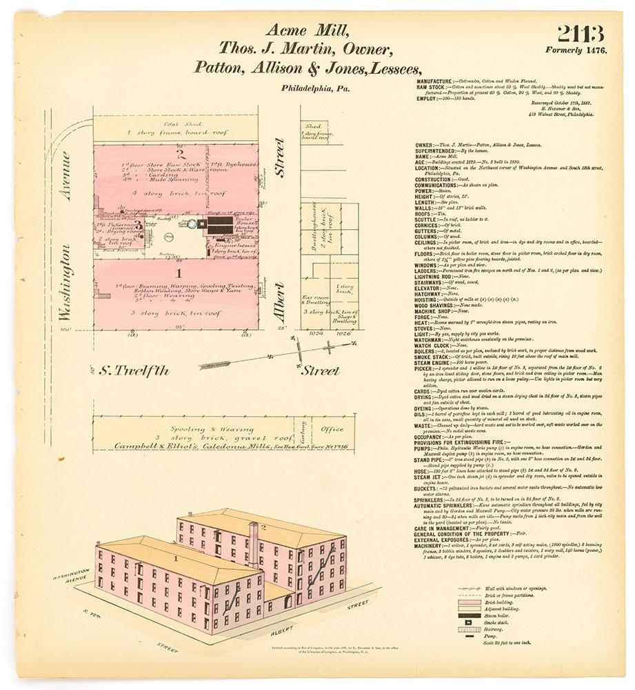 Hexamer General Surveys, Volume 22, Plate 2113