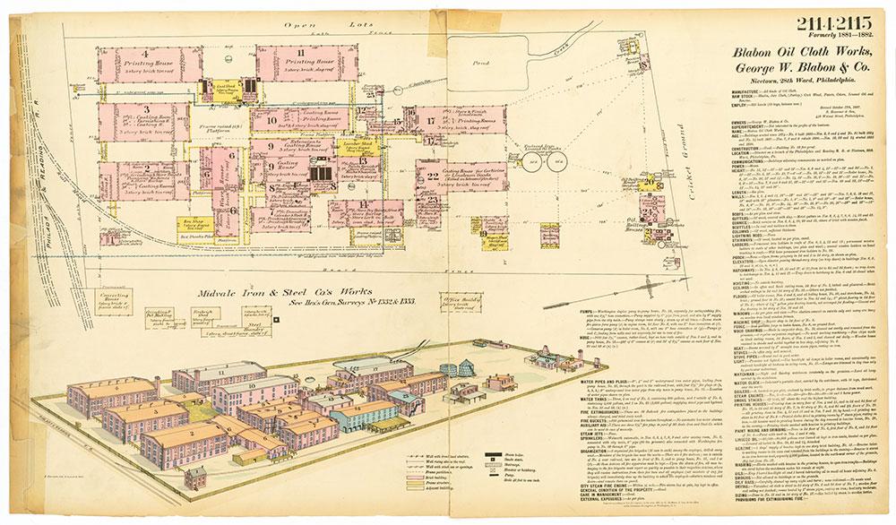 Hexamer General Surveys, Volume 22, Plates 2114-2115