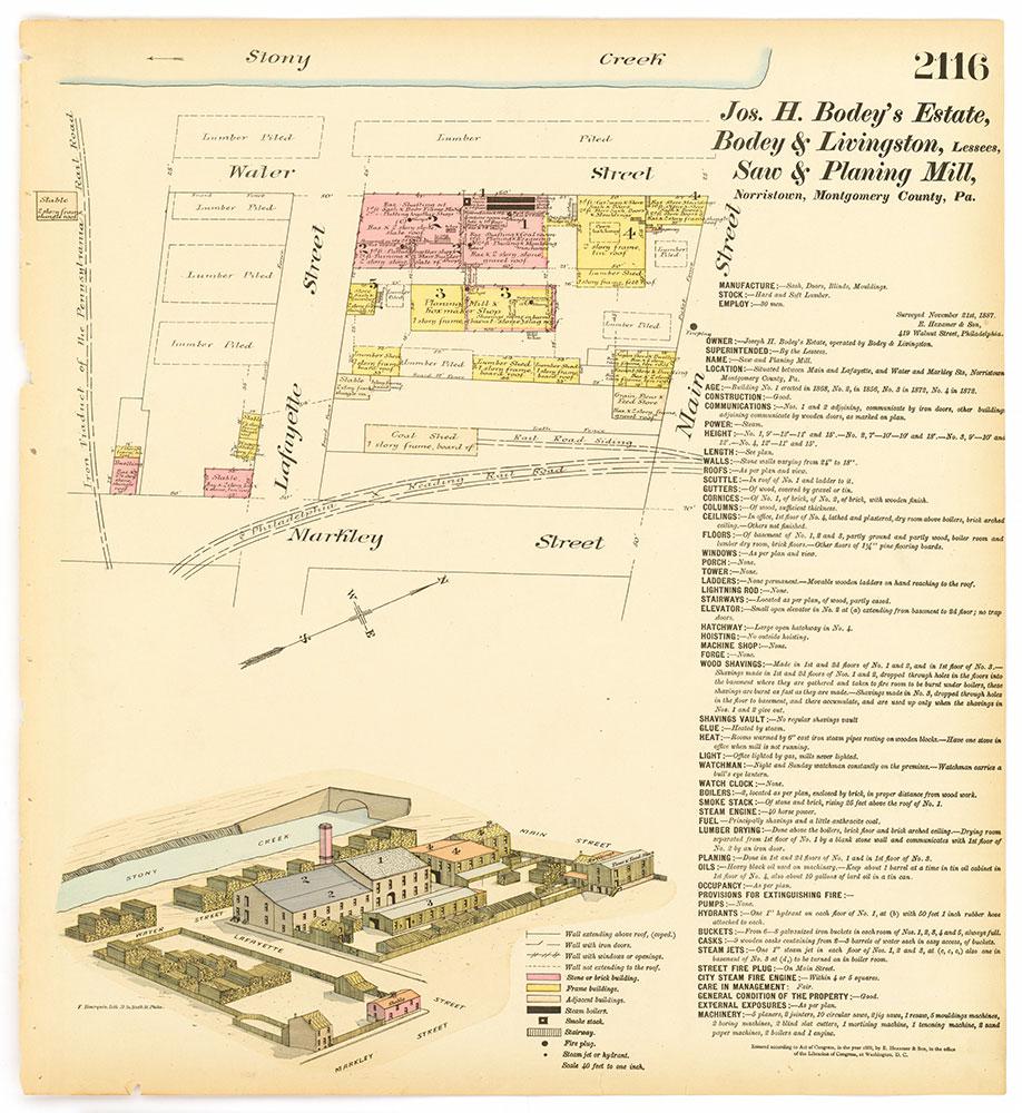 Hexamer General Surveys, Volume 22, Plate 2116